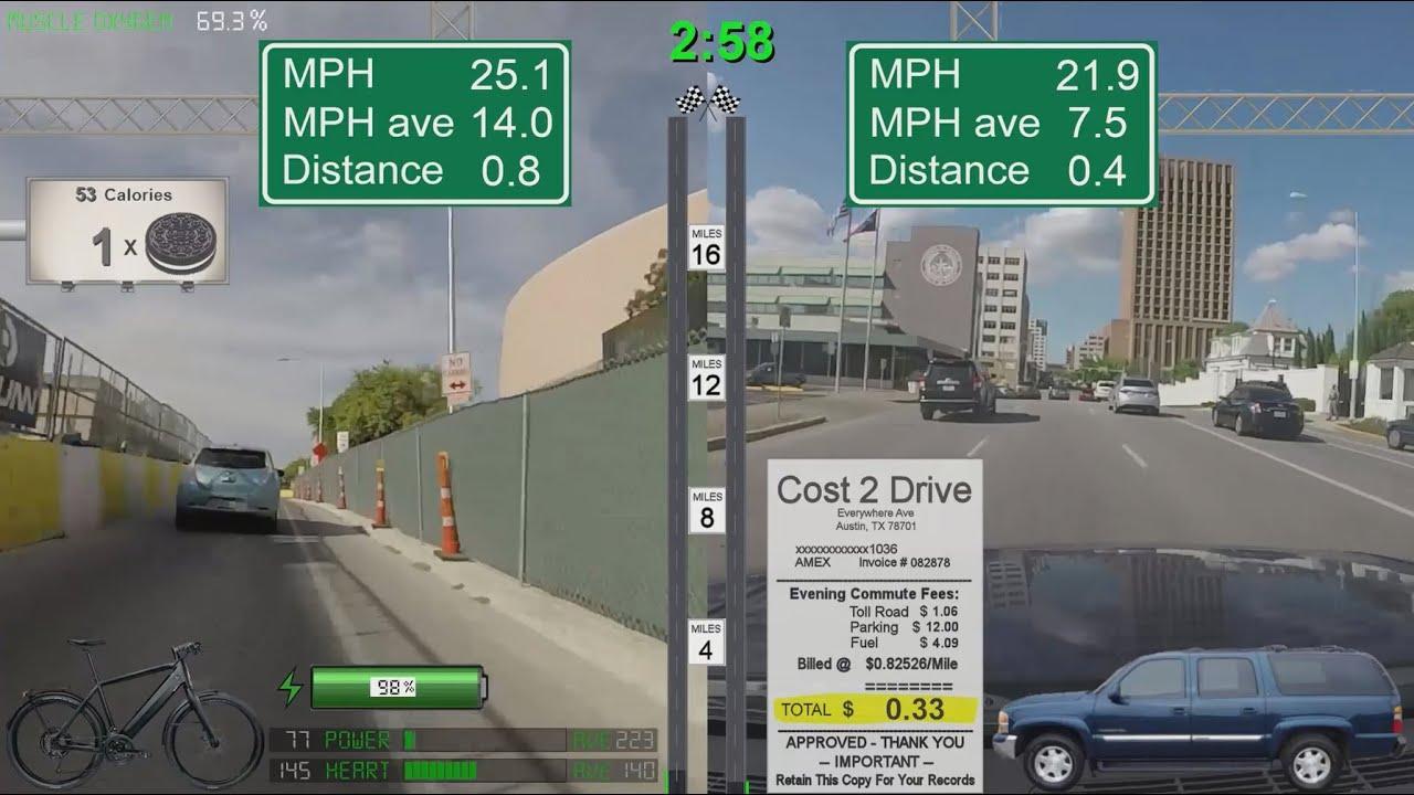Stromer st2 ebike commute vs car commute austin texas 20 for Motor mile austin texas