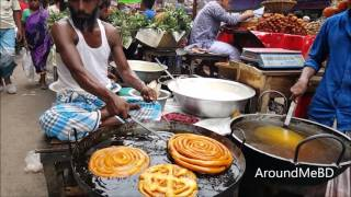 How To Make Sahi Zilapi (Special Sweet) ? Amazing Jilpi Prepared In Famous Ramadan Iftar Market