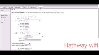 How To Change Wifi Password Hathway Technicolor