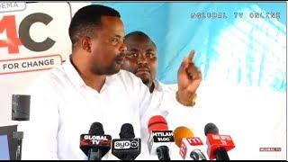 """LEMA: """"Siogopi Kufa, Tutaanika Siri Zote, Mbowe Kufungwa"""""""