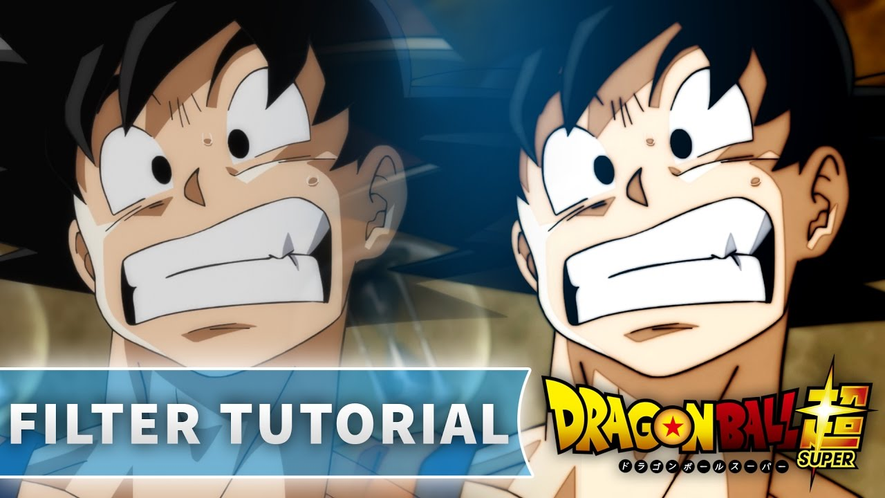 Creating dragon ball supers new filter tutorial