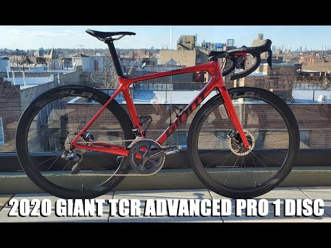 2020 GIANT TCR ADVANCED PRO 1 DISC - My New (slightly Upgraded) Weapon Of Choice.