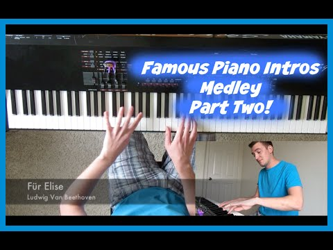 Famous Piano Intros - Part Two! (A Medley of 21 Pop, Rock, Classical and Jazz Intros)