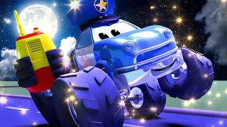 Monster Trucks for children - HALLOWEEN  Malcolm do you copy   Monster Trucks Monster Town