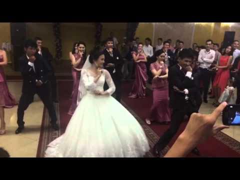Флешмоб на свадьбе СанжарАсима SanzharAsimaWD