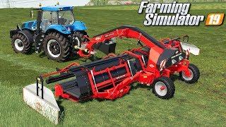 Zgrabianie trawy - Farming Simulator 19 | #79