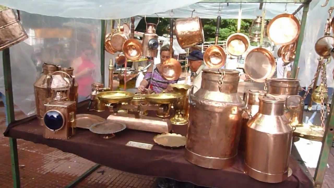 Mercado Las Pulgas De San Telmo Buenos Aires Argentina