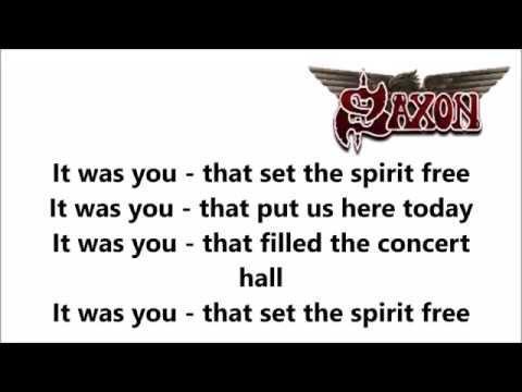 Saxon - Denim And Leather Lyrics