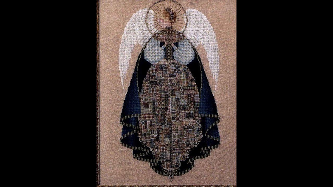 Ангелы любви вышивка крестом схема