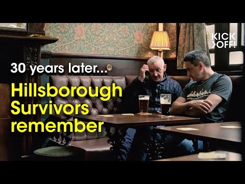 Hillsborough Survivors remember - Liverpool fans 30 years after the disaster in Sheffield