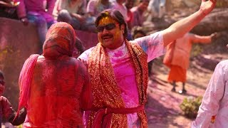 Holi In Mathura U.p India Festival Of Colours