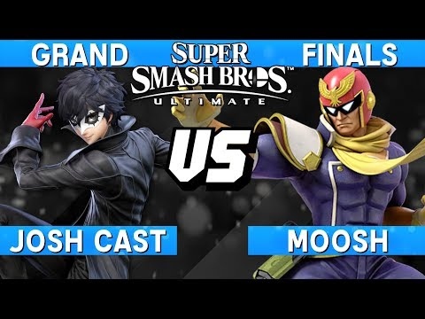 Smash Ultimate Tournament Grand Finals - Josh Cast (Joker) vs Moosh (Captain Falcon) - S@LT 185