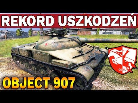 REKORD USZKODZEŃ - 12 000 dmg na Object 907 - World of Tanks
