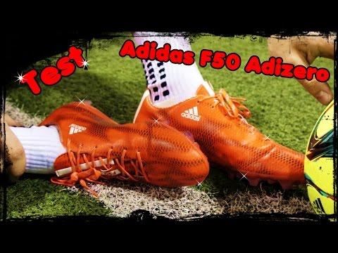 Test: Adidas F50 Adizero FG