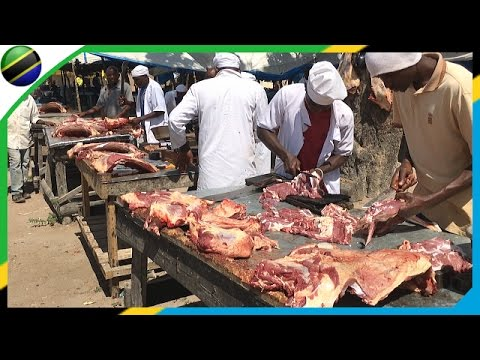 Butcher from a stall - Tanzania 【Africa】