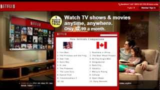 How to get american Netflix or any Country of YOUR Choice FREE! - Official 2013 Way