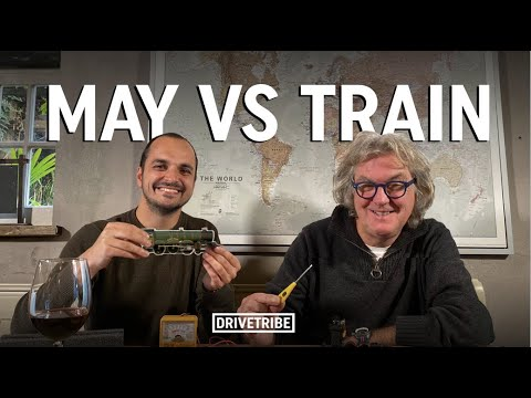 James May restores Mike's toy train   Part 1
