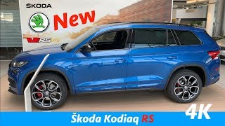 New Škoda Kodiaq RS 2019 - FULL in-depth review in 4K | Digital cockpit