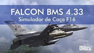 Falcon BMS 4.33 - Simulador de Caça F16