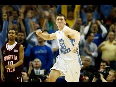 """""""Carolina Basketball: Tyler Hansbrough Game Winner vs. VT in 2008 ACC Tournament"""""""
