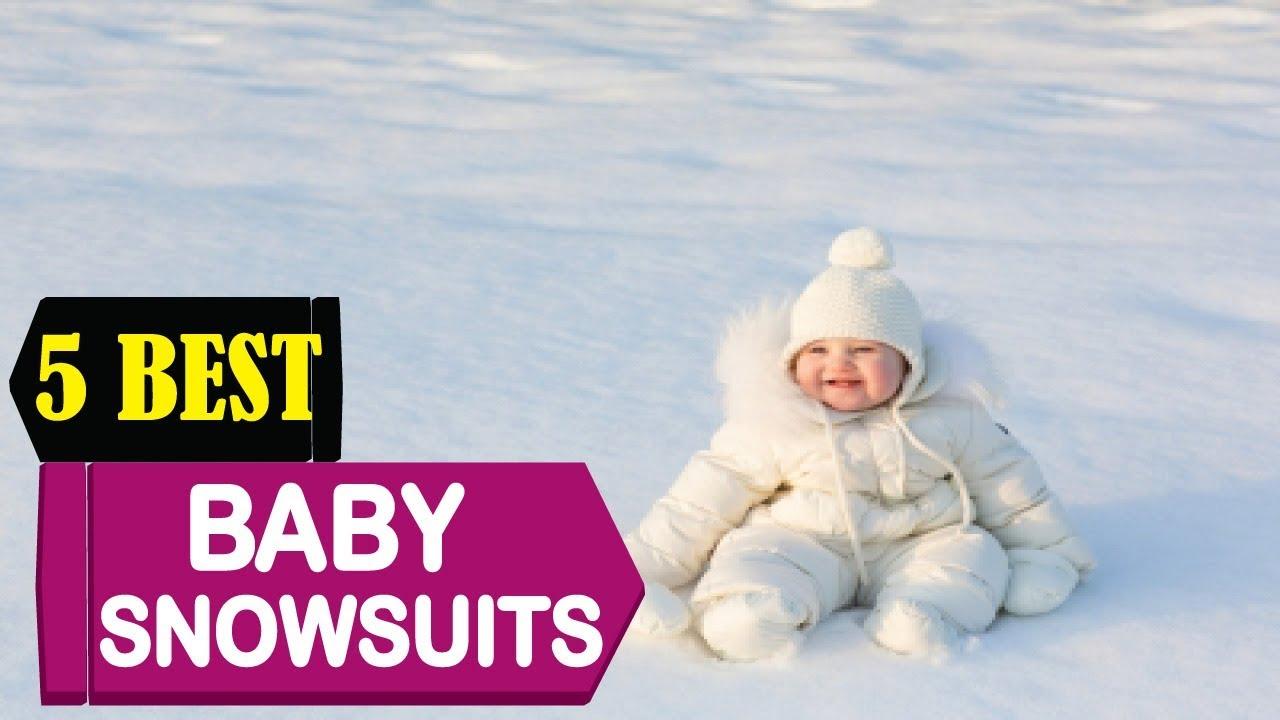 9c5416550 5 Best Baby Snowsuits 2018