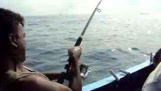 Fishing in Goa  Goa Fishing Video  Suresh From Bangalore Caught King Fish in Goa, India(www.huntinghobby.in., 2016-11-17T06:25:33.000Z)