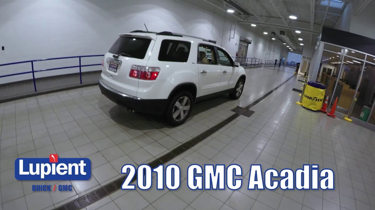 SOLD 2010 GMC Acadia   Lupient Buick GMC Minneapolis Golden Valley     SOLD 2010 GMC Acadia   Lupient Buick GMC Minneapolis Golden Valley MN L7884B