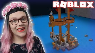 BOAT EATING SHARK?!   Roblox Build a Boat