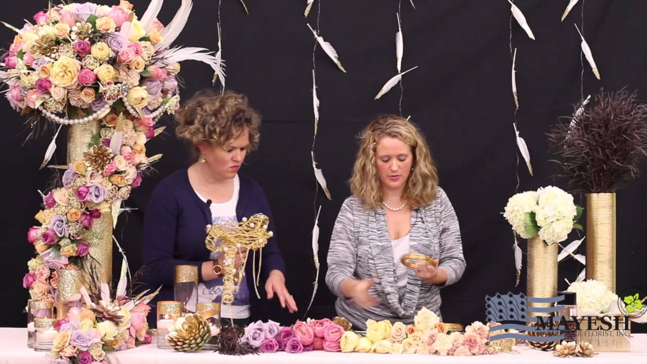 Floral Perspective Dipped In Gold With Beth O Reilly Aifd Youtube