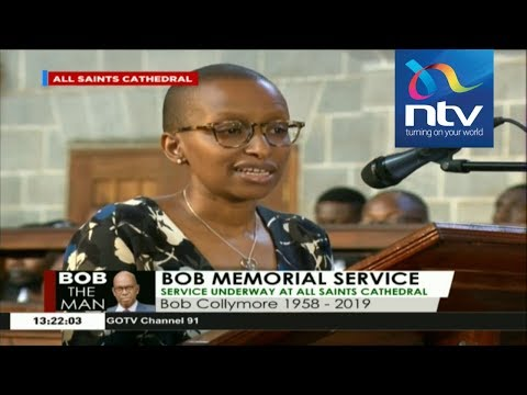 Wambui Collymore Speech: Fondly recalls moments with her late husband
