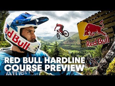This isn't Racing, This is Surviving | Red Bull Hardline Course Preview 2019