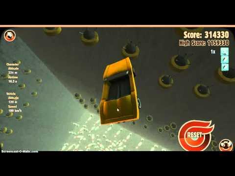 turbo dismount #2 (MINE SKYDIVE!)