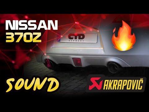 Nissan 370Z équipée d'une ligne d'échappement Supersprint   FunnyCat TV