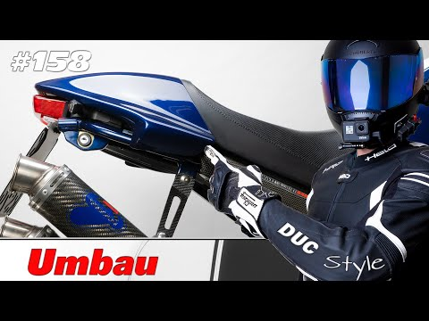 Ducati Monster Heckkürzung / kurzes Heck / schnipp schnapp..... ab