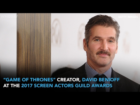 'Game of Thrones' Creator David Benioff Speaks to WHOSAY at the 2017 SAG Awards | WHOSAY