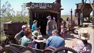 Goldfield Ghost Town Apache for YouTube