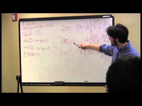 Midnight Math: Aaron Hoffman presents Calculus of Complex Variables