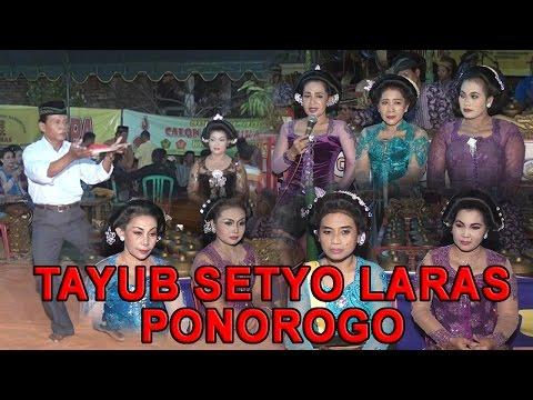Full Langen Beksan Tayub Setyo Laras Di Karangan,  Balong,  Ponorogo
