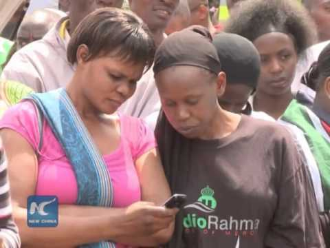 "Africa becomes ""mobile phone continent"" despite basic services remain weak: survey"