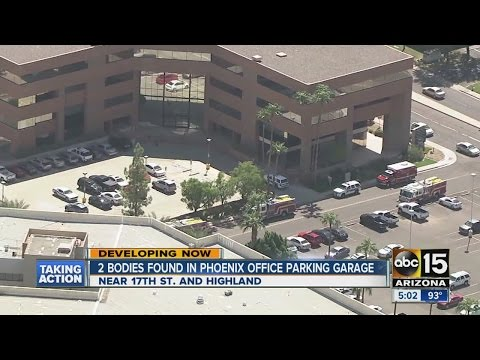 2 bodies found in Phoenix office parking garage