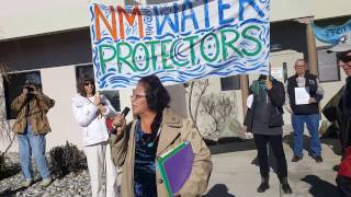 Tribal Delegates to BLM - Enough! Stop Chaco Sale! Clip 2