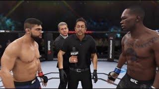 Israel Adesanya vs Kelvin Gastelum (EA sports UFC 3) - CPU vs CPU