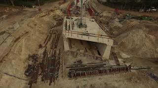N34  tunnel Holthone 16 september 2018