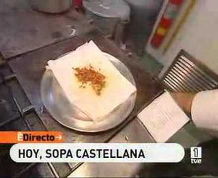 Sopa castellana en casa ojeda burgos youtube - Sopa castellana youtube ...