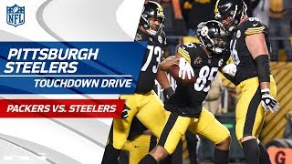 Pittsburgh Starts Quick w/ Big TD Drive vs. Green Bay!   Packers vs. Steelers   NFL Wk 12 Highlights