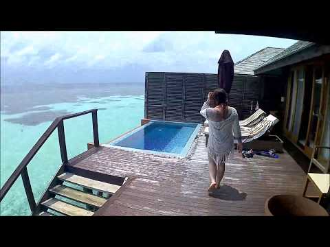 Lily Beach Water Villa Deluxe Room 320, Honeymoon 2017 Maldives HD