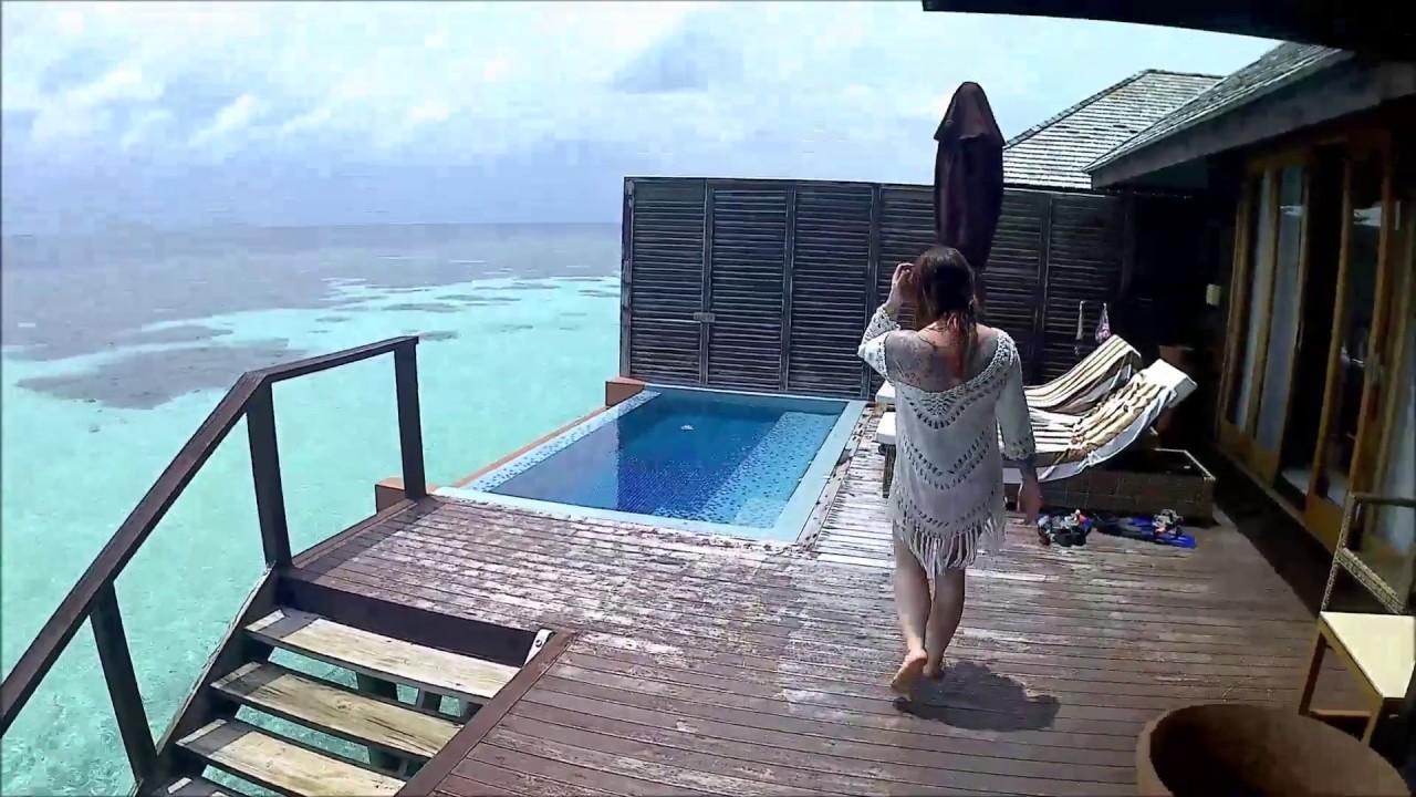 Lily Beach Water Villa Deluxe Room 320 Honeymoon 2017 Maldives Hd