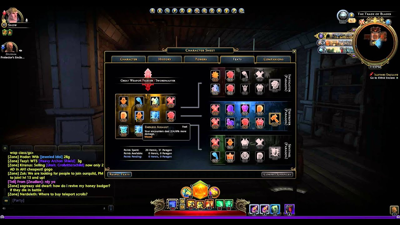 Neverwinter Gwf Dps Build