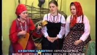 Фольклорный ансамбль Забава. Передача ТВ Вся Россия