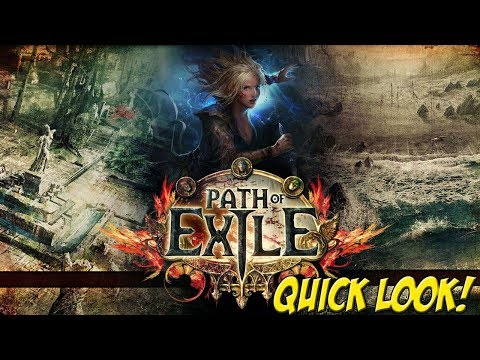 XBOX ONE X: Path of Exile! - Quick Look - YoVideogames